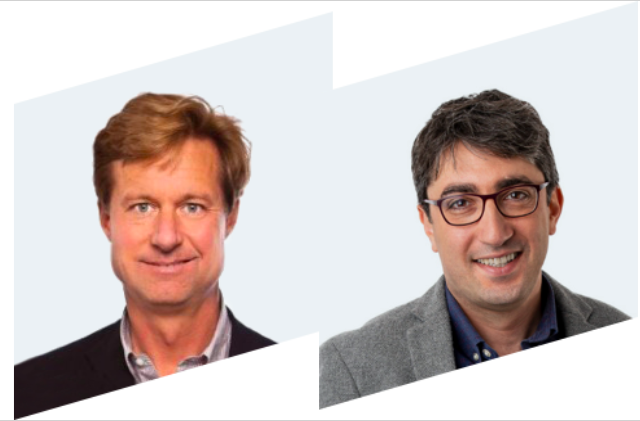 Praisidio co-founders Vahed Qazvinian and Ken Klein.