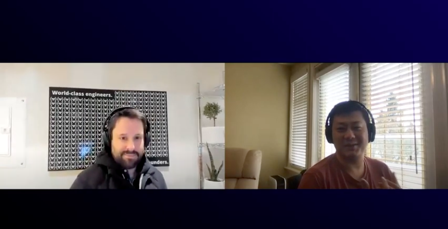 Commit co-founders, Greg Gunn (left) and Beier Cai (right), discuss why they started Commit.